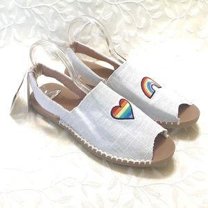 🆕 Reef Womens Flat Sandals Rainbow New size 11